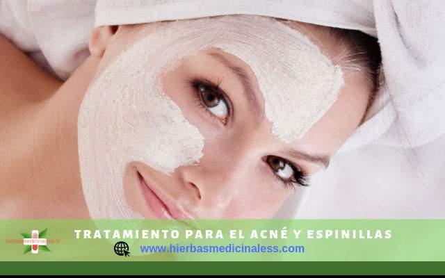 Tratamiento para el acné y espinillas