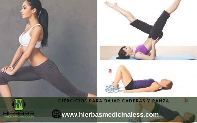 ejercicios para bajar caderas