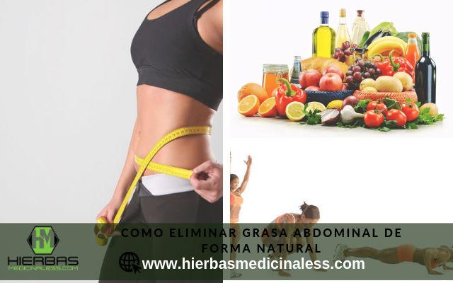 como eliminar grasa abdominal