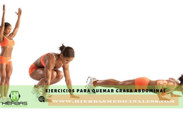 ejercicicos que ayudan a quemar grasa del vientre