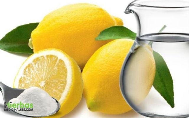 limon y bicarbonato para espinillas del pecho