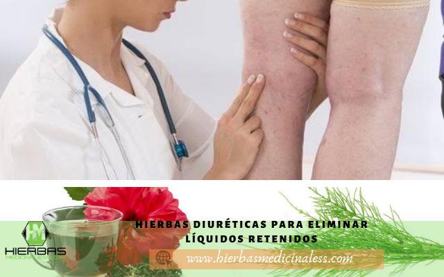 hierbas diureticas para eliminar liquidos retenidos