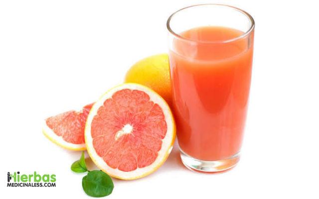 jugo de toronja para curar el higado graso