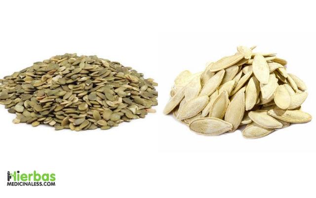 semillas de calabaza para eliminar lombrices