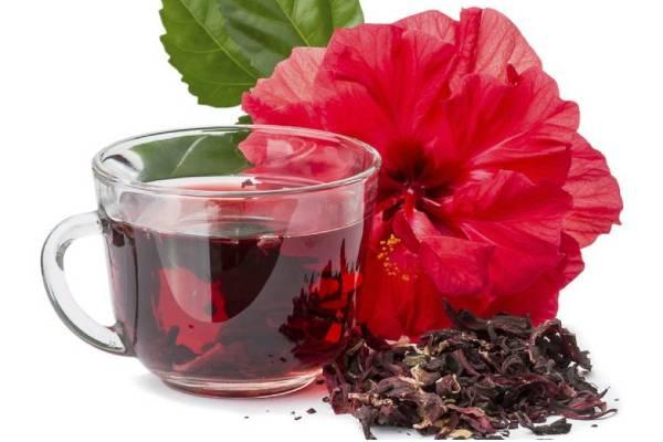 flor de jamaica para bajar de peso